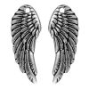 Charm Wing 27mm Antique Silver